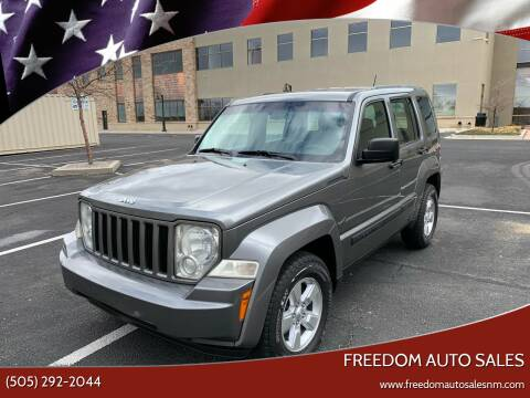 2012 Jeep Liberty for sale at Freedom Auto Sales in Albuquerque NM