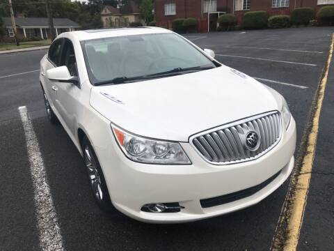 2011 Buick LaCrosse for sale at DEALS ON WHEELS in Moulton AL