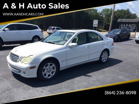 2006 Mercedes-Benz C-Class for sale at A & H Auto Sales in Greenville SC
