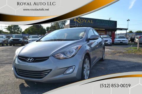 2012 Hyundai Elantra for sale at Royal Auto LLC in Austin TX
