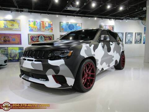 2018 Jeep Grand Cherokee for sale at The New Auto Toy Store in Fort Lauderdale FL