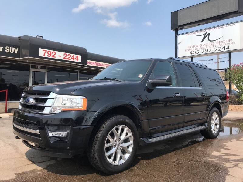 2016 Ford Expedition EL for sale at NORRIS AUTO SALES in Oklahoma City OK