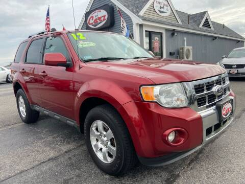 2012 Ford Escape for sale at Cape Cod Carz in Hyannis MA
