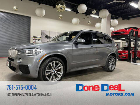 2016 BMW X5 for sale at DONE DEAL MOTORS in Canton MA
