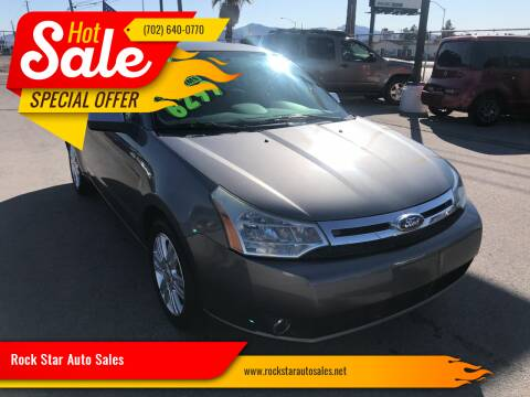 2011 Ford Focus for sale at Rock Star Auto Sales in Las Vegas NV