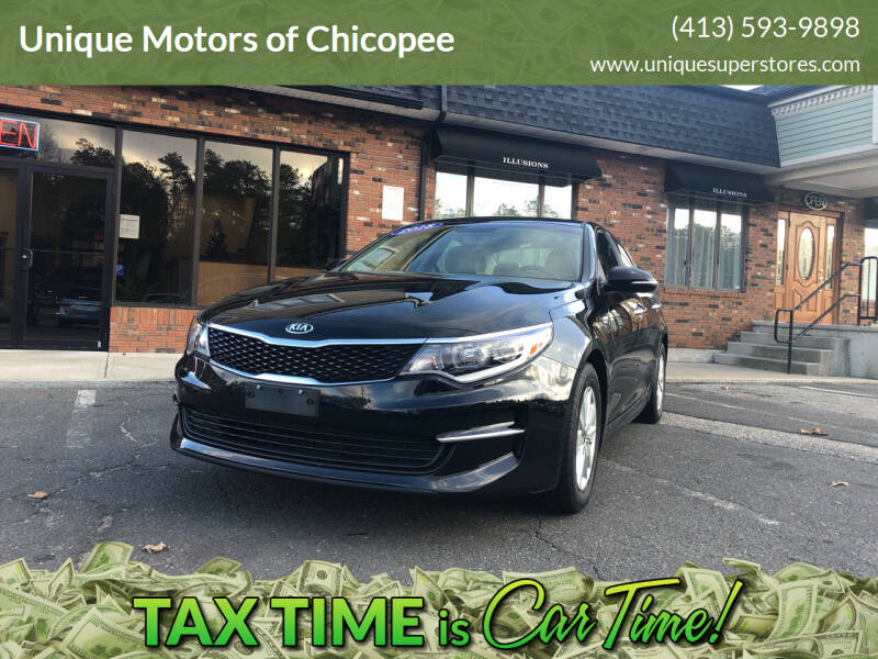 2018 Kia Optima for sale at Unique Motors of Chicopee in Chicopee MA