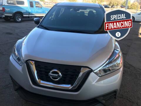 2020 Nissan Kicks for sale at Fiesta Motors Inc in Las Cruces NM