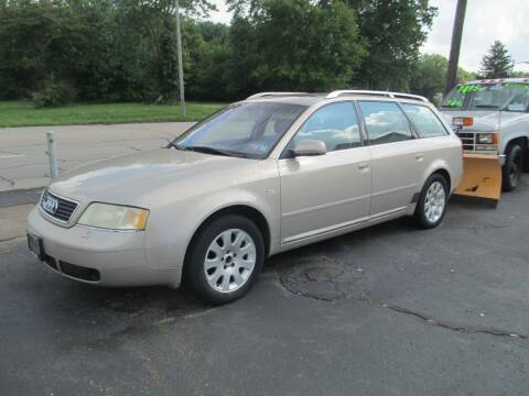 2000 Audi A6 for sale at GREG'S EAGLE AUTO SALES in Massillon OH