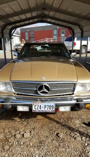 1984 Mercedes-Benz 380-Class for sale at QUALITY MOTOR COMPANY in Portales NM
