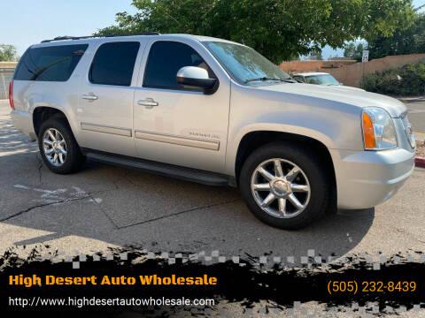 2013 GMC Yukon XL for sale at High Desert Auto Wholesale in Albuquerque NM