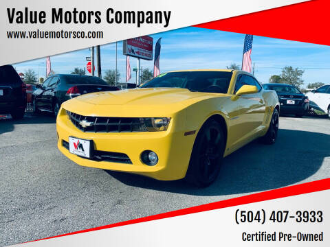2010 Chevrolet Camaro for sale at Value Motors Company in Marrero LA
