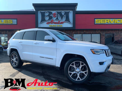 2018 Jeep Grand Cherokee for sale at B & M Auto Sales Inc. in Oak Forest IL