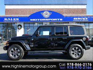 2018 Jeep Wrangler Unlimited for sale at Highline Group Motorsports in Lowell MA