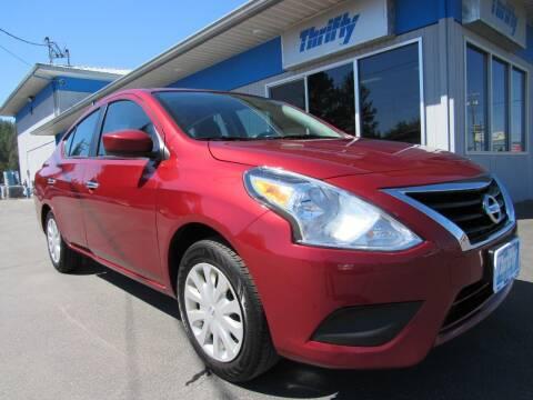 2019 Nissan Versa for sale at Thrifty Car Sales SPOKANE in Spokane Valley WA