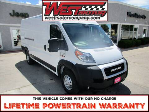 2021 RAM ProMaster Cargo for sale at West Motor Company in Preston ID