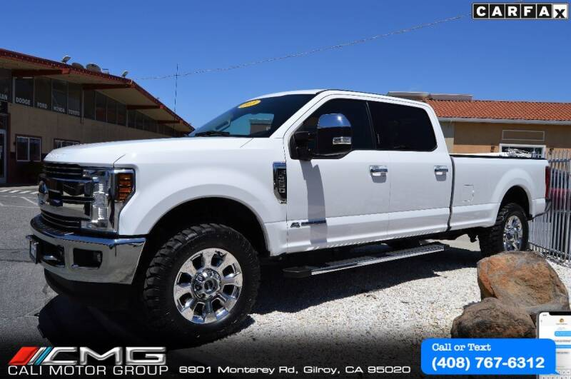 2018 Ford F-350 Super Duty for sale at Cali Motor Group in Gilroy CA