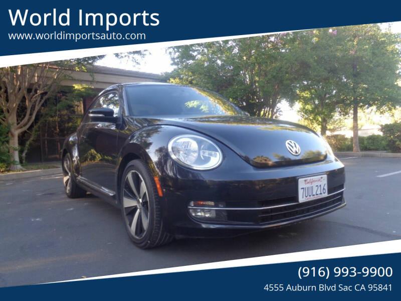 2012 Volkswagen Beetle for sale in Sacramento, CA