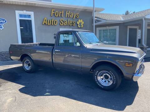 1968 Chevrolet Apache for sale at Fort Hays Auto Sales in Hays KS