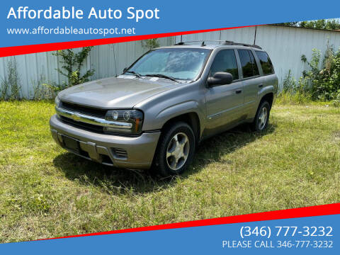 2007 Chevrolet TrailBlazer for sale at Affordable Auto Spot in Houston TX