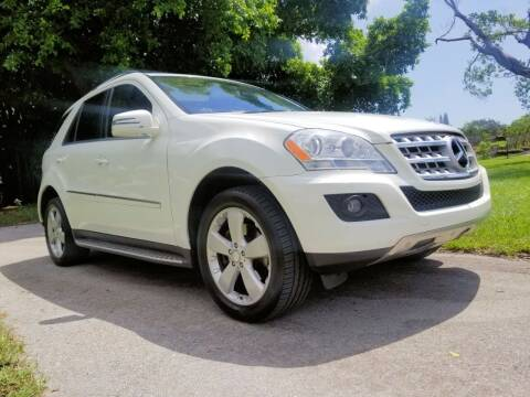 2011 Mercedes-Benz M-Class for sale at M.D.V. INTERNATIONAL AUTO CORP in Fort Lauderdale FL