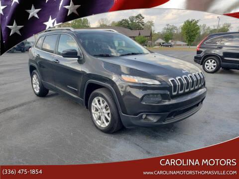 2014 Jeep Cherokee for sale at CAROLINA MOTORS in Thomasville NC
