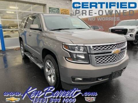 2017 Chevrolet Tahoe for sale at KEN BARRETT CHEVROLET CADILLAC in Batavia NY