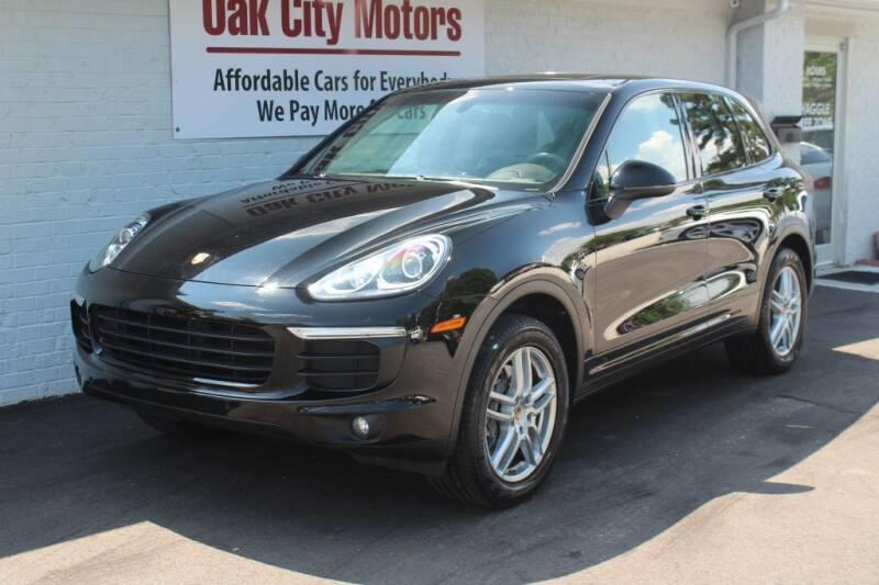 2016 Porsche Cayenne for sale at Oak City Motors in Garner NC