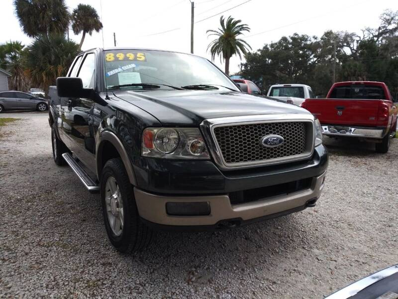 2004 Ford F-150 for sale at D & D Detail Experts / Cars R Us in New Smyrna Beach FL