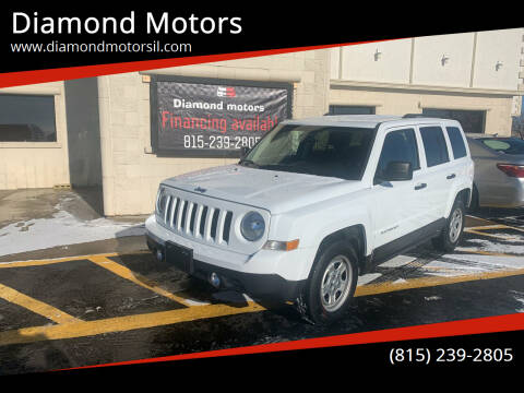 2017 Jeep Patriot for sale at Diamond Motors in Pecatonica IL