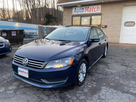2015 Volkswagen Passat for sale at Auto Match in Waterbury CT
