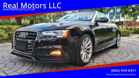 2017 Audi A5 for sale at Real Motors LLC in Clearwater FL