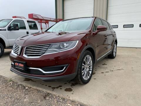 2016 Lincoln MKX for sale at Northern Car Brokers in Belle Fourche SD