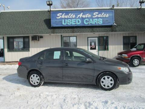 2010 Toyota Corolla for sale at SHULTS AUTO SALES INC. in Crystal Lake IL