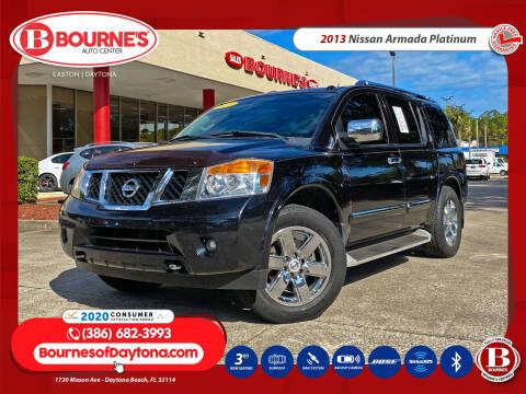 2013 Nissan Armada for sale at Bourne's Auto Center in Daytona Beach FL