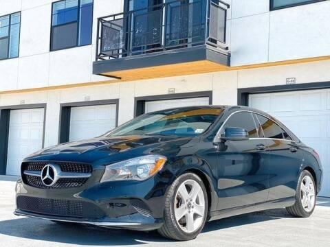 2018 Mercedes-Benz CLA for sale at Avanesyan Motors in Orem UT