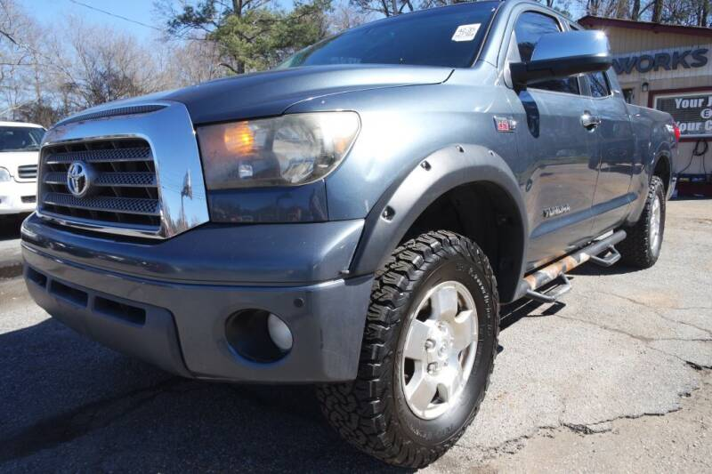 2008 Toyota Tundra for sale at E-Motorworks in Roswell GA