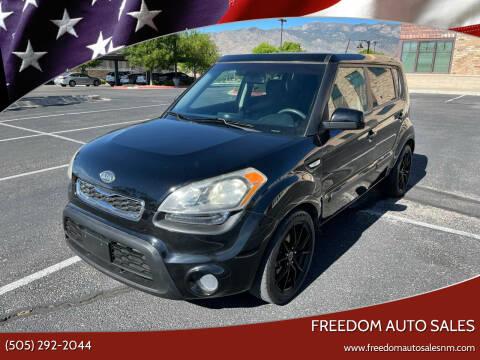 2012 Kia Soul for sale at Freedom Auto Sales in Albuquerque NM