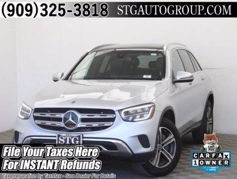 2020 Mercedes-Benz GLC for sale at STG Auto Group in Montclair CA