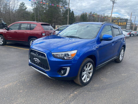 2015 Mitsubishi Outlander Sport for sale at Affordable Auto Sales in Webster WI