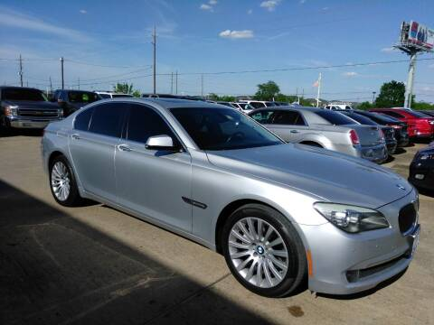 2012 BMW 7 Series for sale at Discount Auto Company in Houston TX