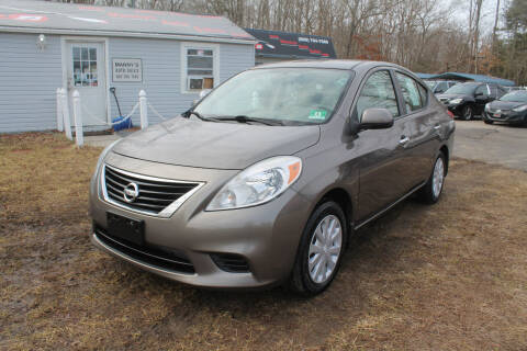 2012 Nissan Versa for sale at Manny's Auto Sales in Winslow NJ