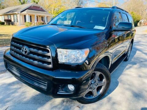 2011 Toyota Sequoia for sale at Cobb Luxury Cars in Marietta GA