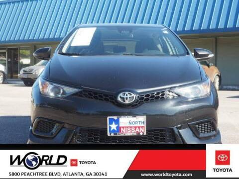 2017 Toyota Corolla iM for sale at CU Carfinders in Norcross GA