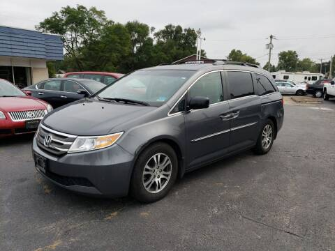 2012 Honda Odyssey for sale at COLONIAL AUTO SALES in North Lima OH