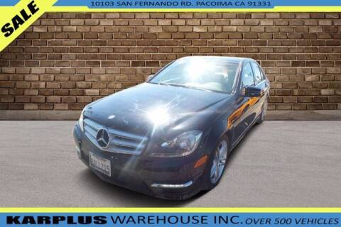 2012 Mercedes-Benz C-Class for sale at Karplus Warehouse in Pacoima CA