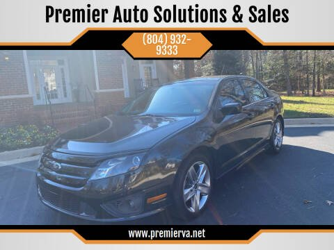 2012 Ford Fusion for sale at Premier Auto Solutions & Sales in Quinton VA
