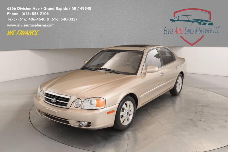 2004 Kia Optima for sale at Elvis Auto Sales LLC in Grand Rapids MI