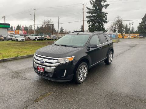 2013 Ford Edge for sale at Apex Motors Parkland in Tacoma WA