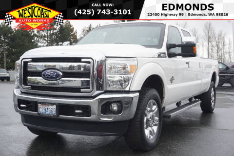 2015 Ford F-350 Super Duty for sale at West Coast Auto Works in Edmonds WA