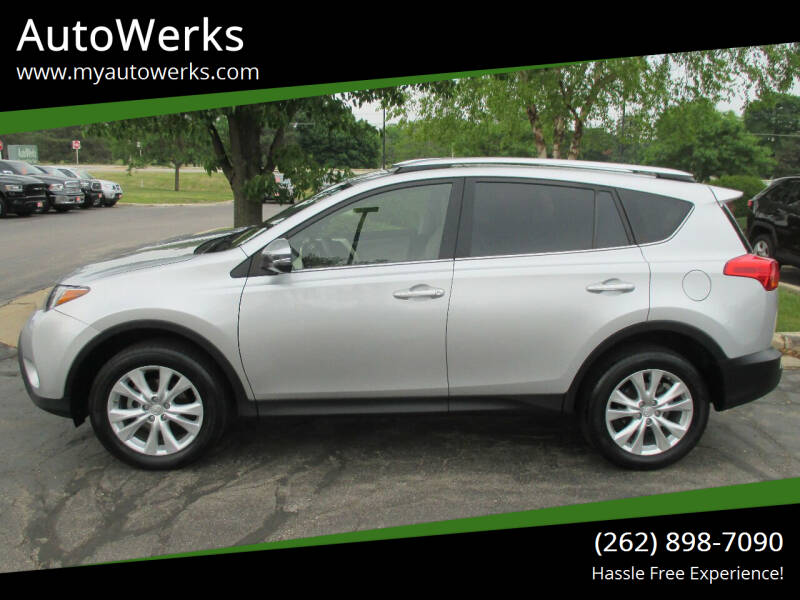 2015 Toyota RAV4 for sale at AutoWerks in Sturtevant WI
